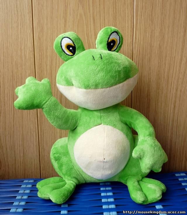 Игрушка своими руками лягушка