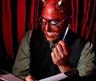 дьявол-писатель